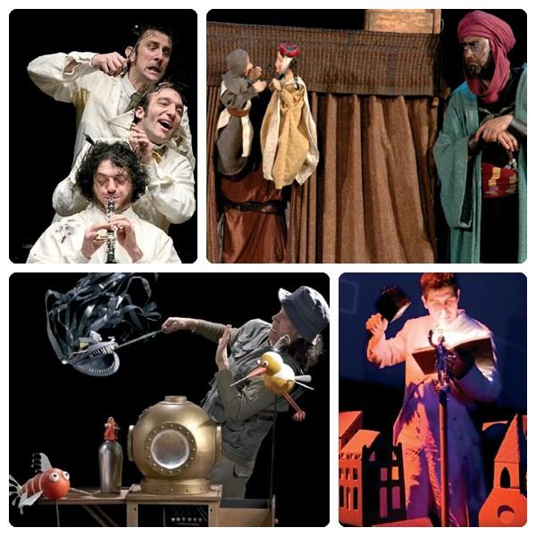 Espectáculos para niños de Teatralia 2012