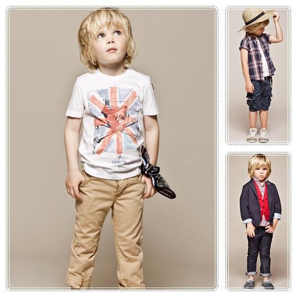 Moda infantil primavera verano 2012