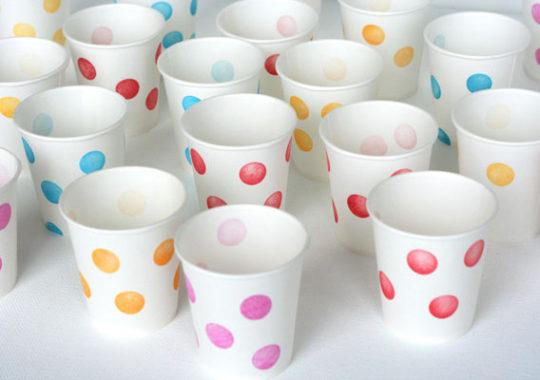 Cómo decorar vasos para un cumpleaños 4