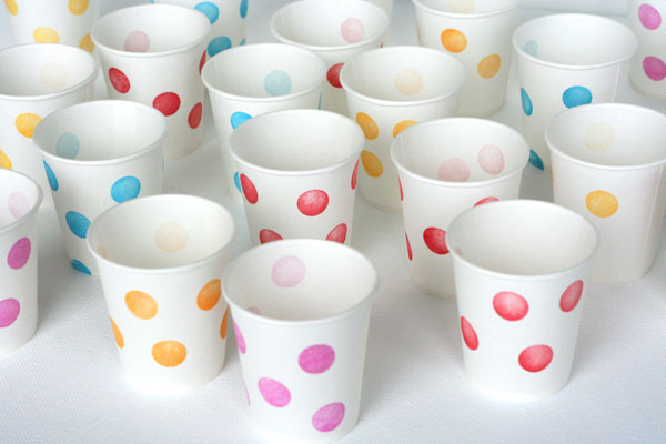ideas para cumpleaos decoramos los vasos