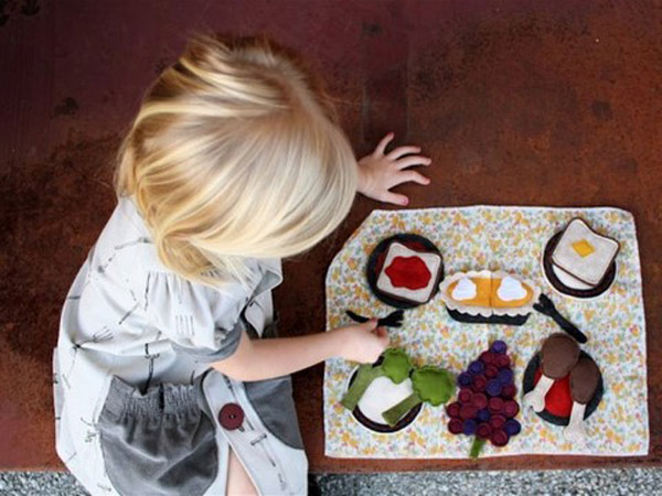 Manualidades para niños con fieltro