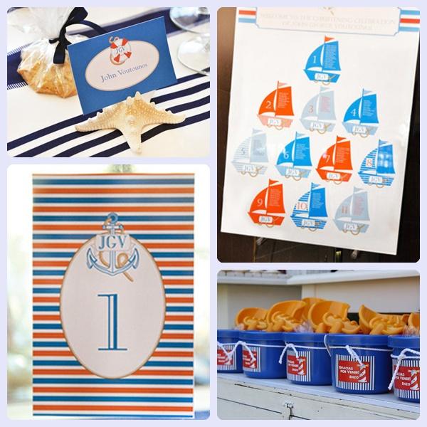 Ideas para cumplea os marineros pequeocio - Ideas infantiles para cumpleanos ...