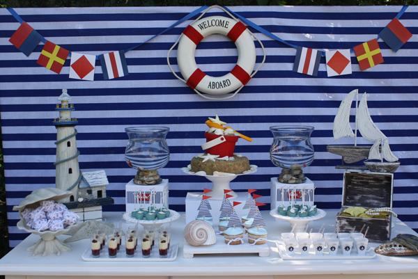 ideas para cumpleaos marineros