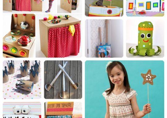 10 manualidades infantiles con cartón fáciles y divertidas 1