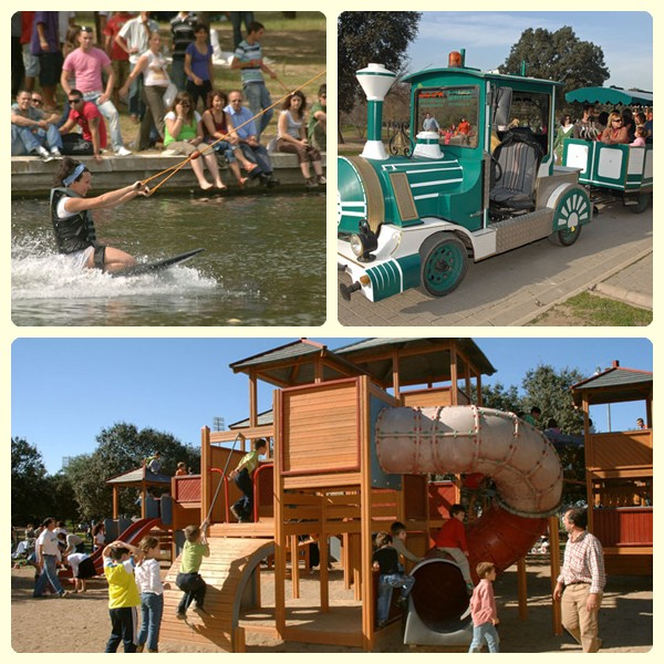 Viajar con niños a Sevilla: Parque del Alamillo