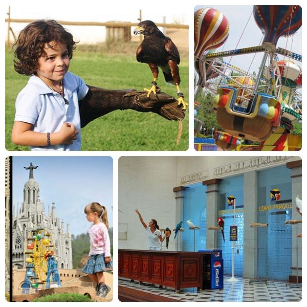 Viajar con niños: parques temáticos