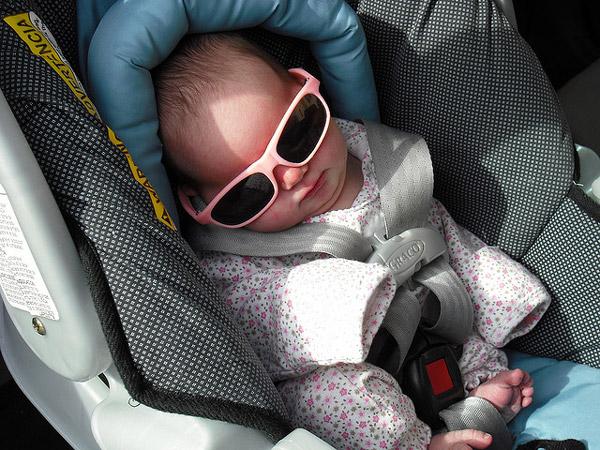 Consejos para viajes en coche con bebés