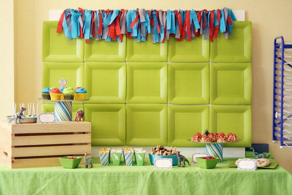 Fiesta infantil de dinosaurios pequeocio - Decoracion fiestas infantiles para ninos ...