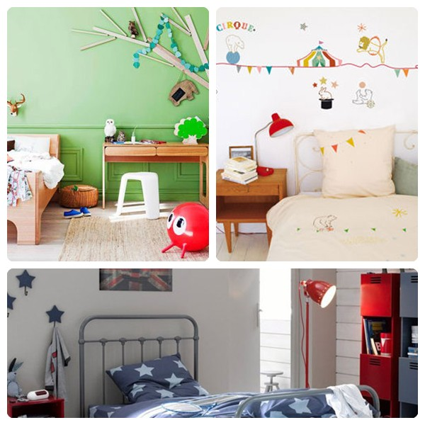 10 habitaciones infantiles para chicos pequeocio - Decoracion para habitaciones infantiles ...