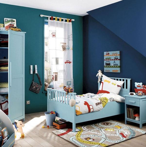 10 habitaciones infantiles para chicos pequeocio - Alfombra habitacion nino ...