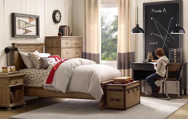10 habitaciones infantiles para chicos pequeocio - Dormitorios infantiles clasicos ...