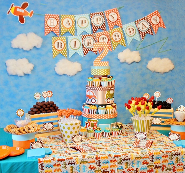 Una fiesta infantil llena de color pequeocio - Ideas fiesta cumpleanos infantil ...