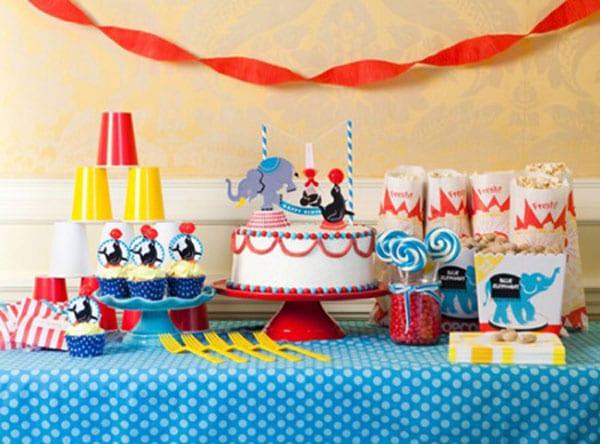 Fiestas infantiles originales. Decoración de cumpleaños para niños