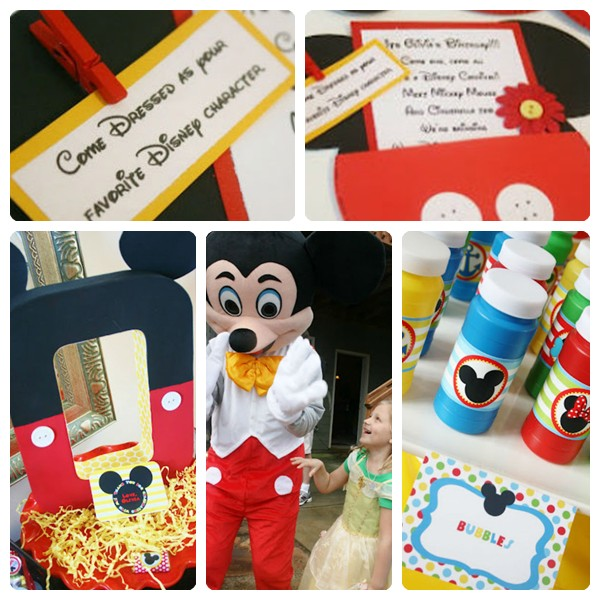 Cumpleaños de niños: Disney