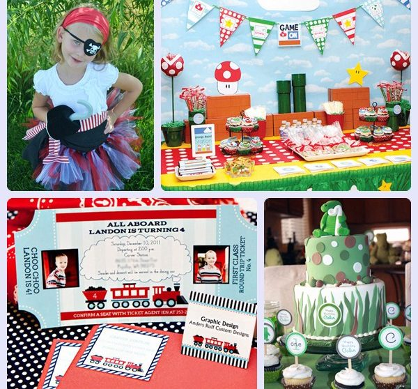 165d334a5 Fiestas infantiles originales. Decoración de cumpleaños para niños