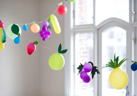 Guirnalda de globos para un cumpleaños 3