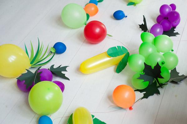 Manualidades con globos para fiestas infantiles