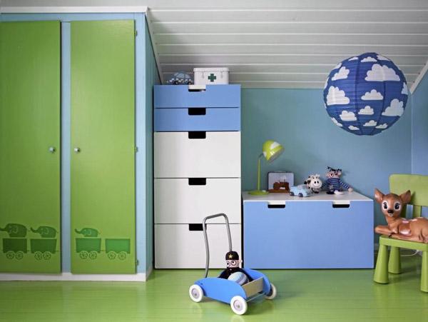 10 habitaciones infantiles para chicos pequeocio for Letras decoracion ikea