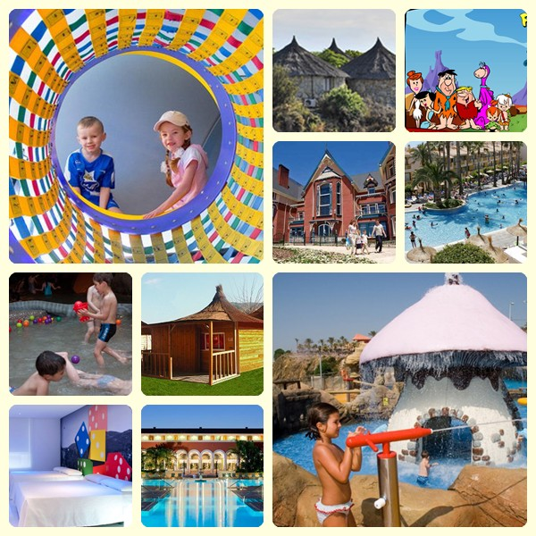 Hoteles para ir de vacaciones con ni os en espa a - Hotel piscina toboganes para ninos ...