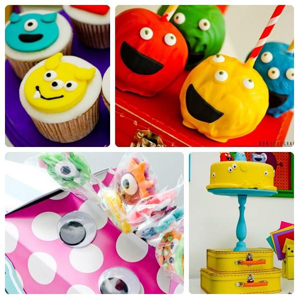 Fiestas infantiles temáticas: monstruos