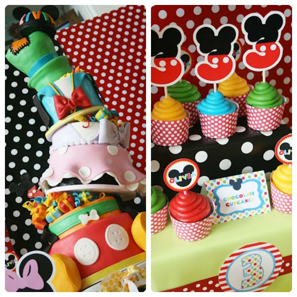 Cumpleaños infantiles de Mickey Mouse - PequeOcio