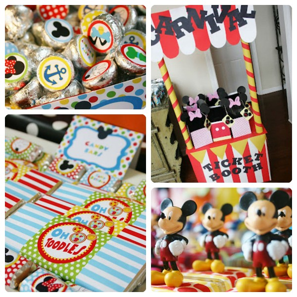 Cumpleaños infantiles de Mickey Mouse