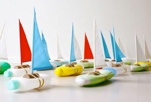 barcos de juguete para la bañera manualidad infantil