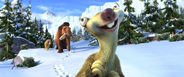 cine infantil ice age 4