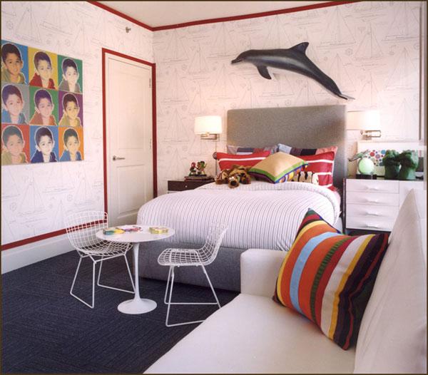 Habitaciones para ni os de estilo n utico decoraci n infantil - Decoracion habitaciones de ninos ...