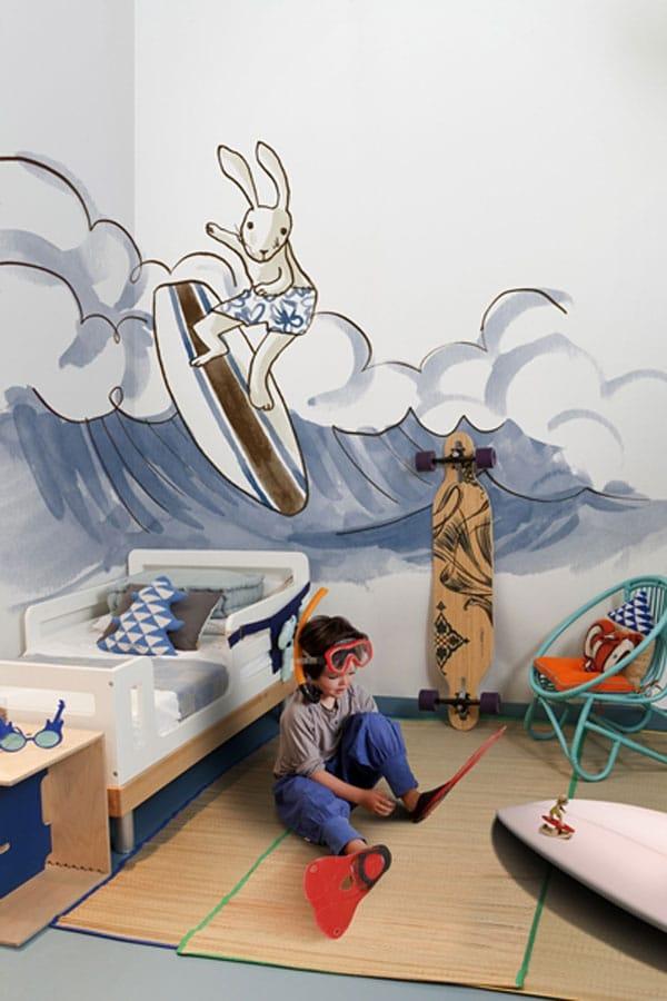 Habitaciones infantiles de estilo náutico