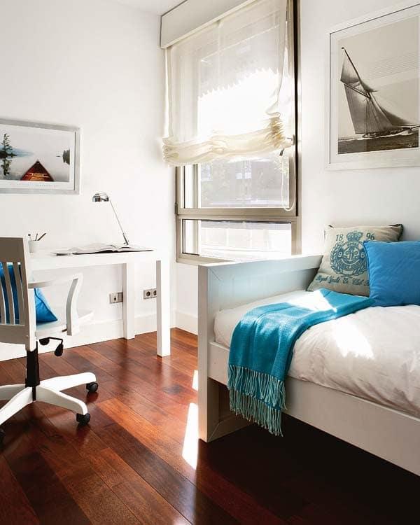 Habitaciones para ni os de estilo n utico decoraci n infantil for Ideas para decorar dormitorio juvenil