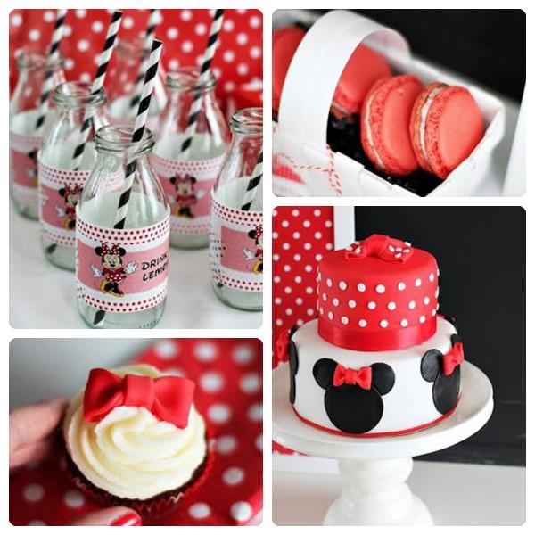 Fiesta De Cumpleaños De Minnie Mouse Pequeocio