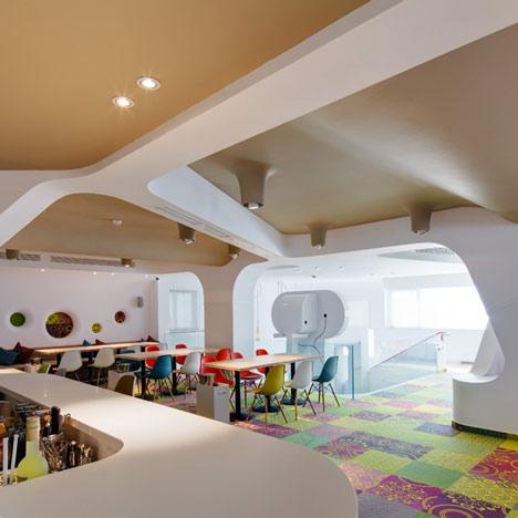 Restaurante para niños de diseño