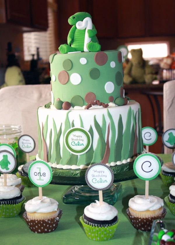 tarta-cocodrilo-cupcakes