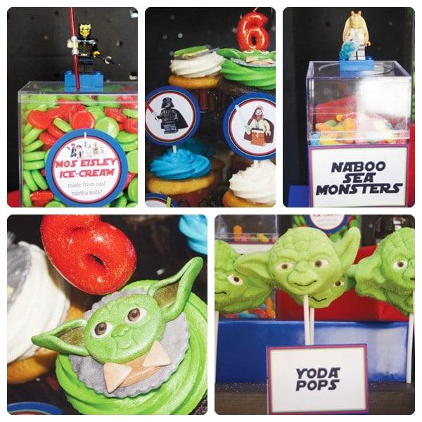 Cumpleaños de Lego Star Wars