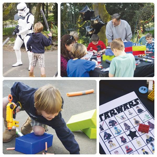 Cumpleanos Tematico De Lego Star Wars Pequeocio Com
