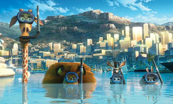 Estreno 2012 del cine infantil: Madagascar 3