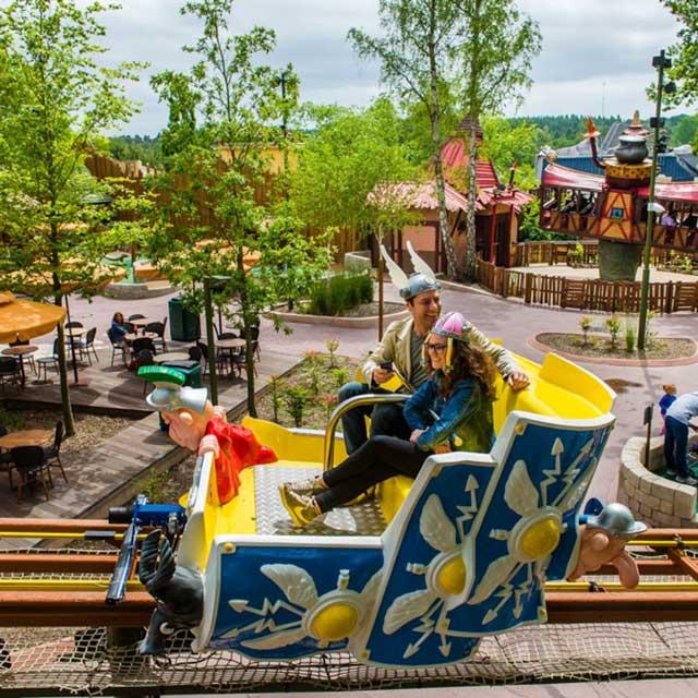 Parc Asterix atracciones