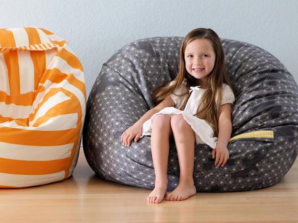 Sillones Puff Para Ninos.Como Hacer Un Puff Para La Habitacion Infantil Pequeocio Com