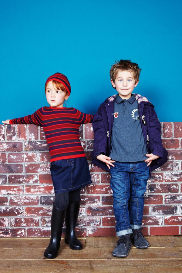 Vuelta al cole: moda para niños