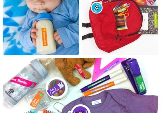 Etiquetas para marcar la ropa con Etic-Etac 9