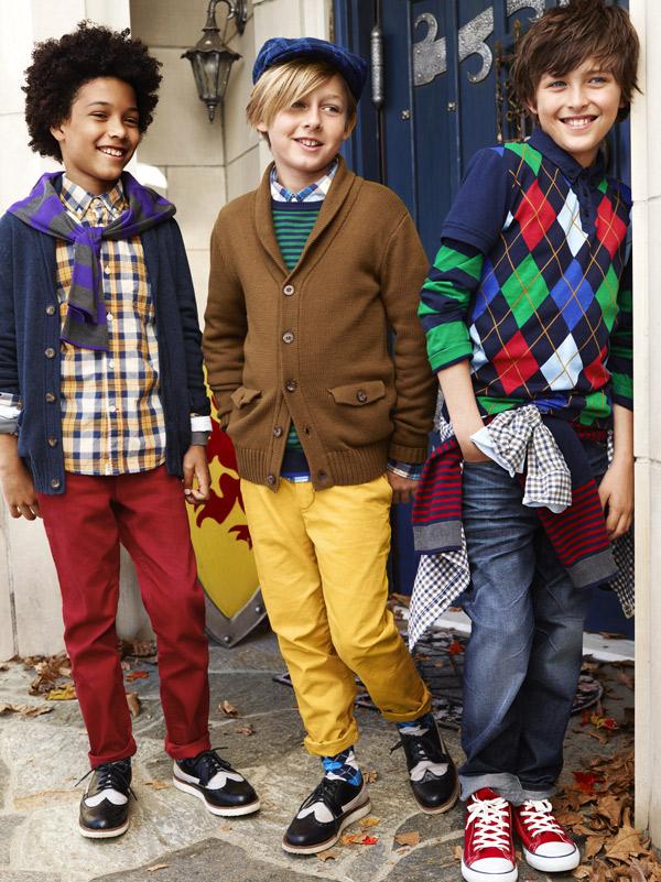 Vuelta al cole 2012: moda para niños de H&M