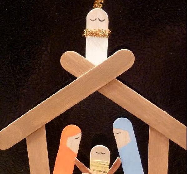 Un Portal De Navidad Fácil Para Hacer Con Niños Pequeociocom