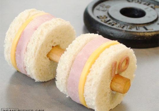 Un sandwich para los más fuertes de la casa 4