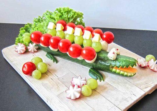 Aperitivos para niños sanos y divertidos