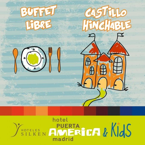 Hotel Puerta America buffet infantil