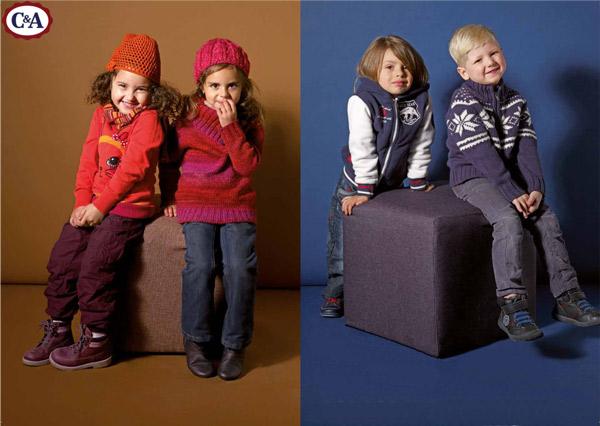 Moda para niños CyA otoño invierno 2012-2013