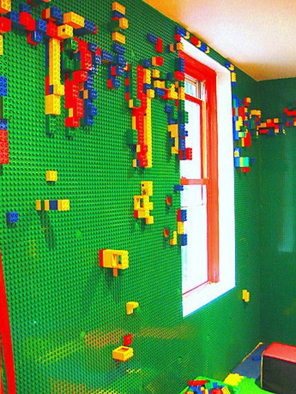 4 habitaciones infantiles decoradas con piezas lego for Cuartos de ninas feos