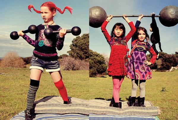 Moda infantil Desigual