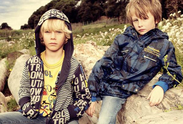 Desigual, moda infantil